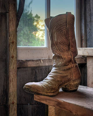 Photograph - Cowboy Boot  by Nikolyn McDonald