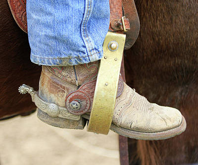 Photograph - Cowboy Boot by Steve McKinzie