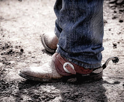 Photograph - Cowboy Boots by Athena Mckinzie