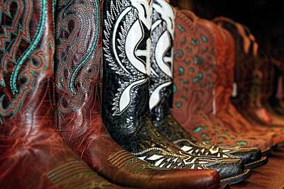 Photograph - Cowboy Boots Buy One Get Two Free II by Carol Montoya