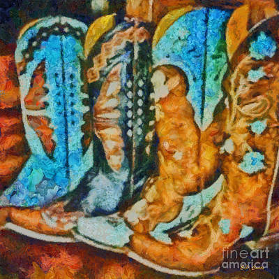 Cowgirl Boots Paintings Page 4 Of 9