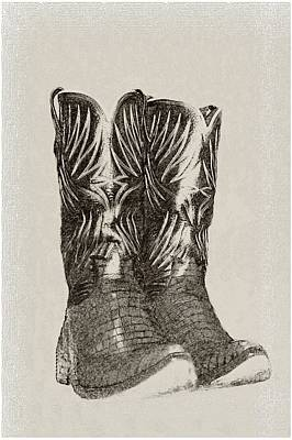 Photograph - Cowboy Boots by Ellen O'Reilly