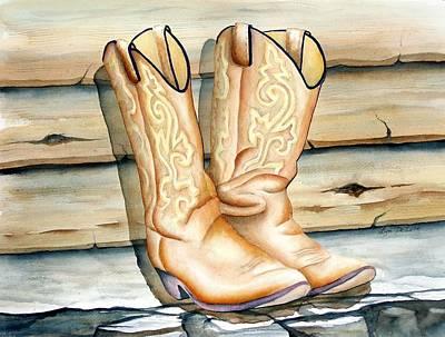 Cowboy Boots Original by Lyn DeLano