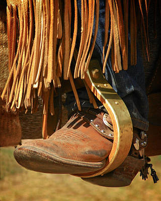 Photograph - Cowboy Boots by Scott Read