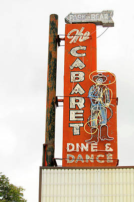 Photograph - Cowboy Cabaret by Art Block Collections