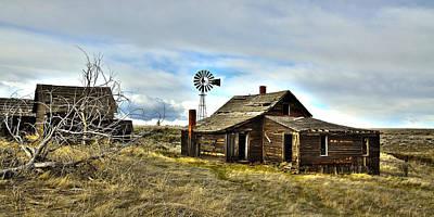 Photograph - Cowboy Cabin by Steve McKinzie