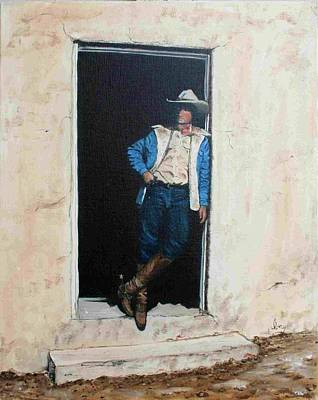 Painting - Cowboy Cade by Mike Ivey