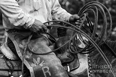 Working Cowboy Photograph - Cowboy Country 2 by Bob Christopher