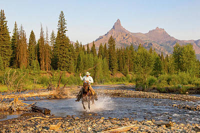 Photograph - Cowboy Country by Jack Bell