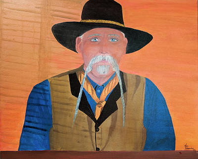 Photograph - Cowboy  by Dee Browning
