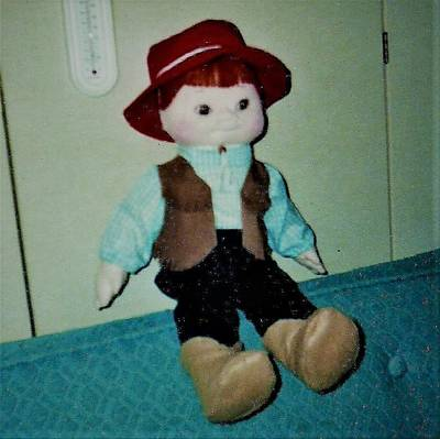 Photograph - Cowboy Doll by Denise Fulmer
