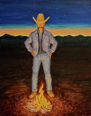 Painting - Cowboy Dreams by Michele Myers