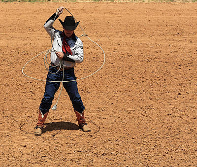 Photograph - Cowboy Entertainer by Kim Henderson