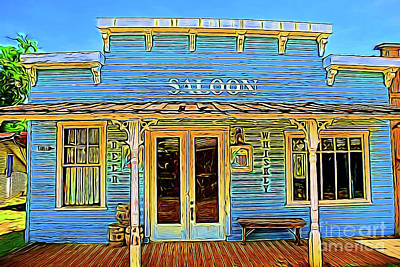 Photograph - Cowboy Era Saloon 14018 by Ray Shrewsberry