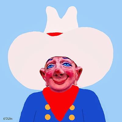 Painting - Cowboy Fud by David Wiles