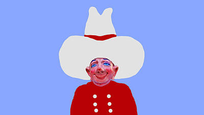 Sculpture - Cowboy Fud - Wardrobe Test 13 by David Wiles