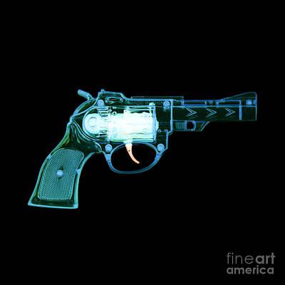 Photograph - Cowboy Gun 001 by Clayton Bastiani