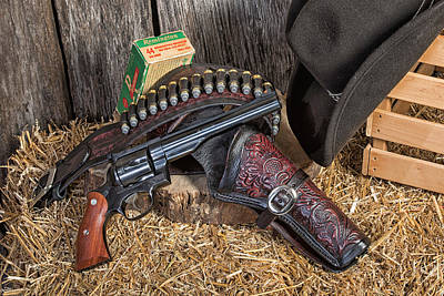 Photograph - Cowboy Gunbelt by John Kiss