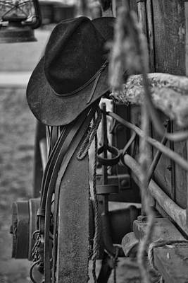 Wheel Thrown Photograph - Cowboy Hat  by Toni Hopper