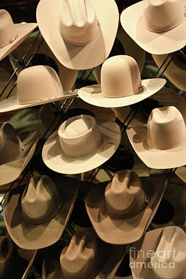 Photograph - Cowboy Hats by Carol Groenen
