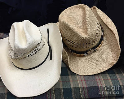 Photograph - Cowboy Hats by Renie Rutten