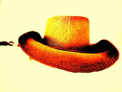 Cowboy Hat Original by Sarah Scherf