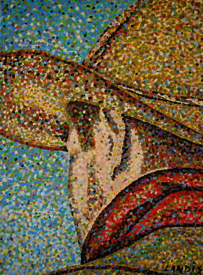 Cowboy I Original by Denise Landis