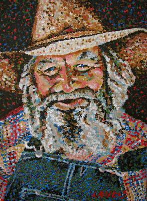 Cowboy II Art Print