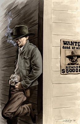 Painting - Cowboy by James Taylor