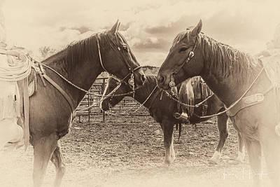 Working Cowboy Photograph - Cowboy Jewelry by Twna Douglas