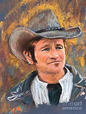 Painting - Cowboy by Jieming Wang