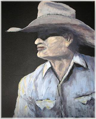 Southwestern Painting - Cowboy by Kenneth McGarity