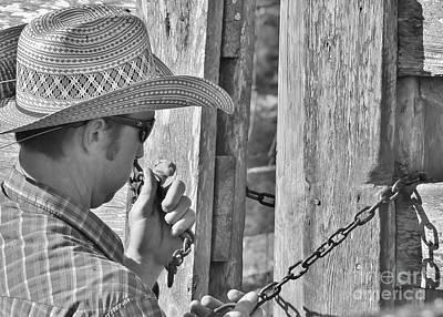 Working Cowboy Photograph - Cowboy Life by Lisa Renee Ludlum