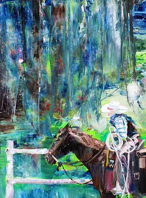 Painting - Cowboy Nature by Fabrizio Cassetta