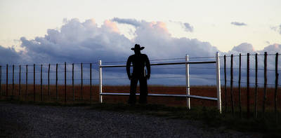 Photograph - Cowboy On The Ranch by Toni Hopper