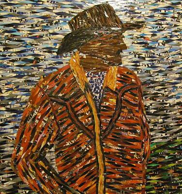 Cowboy Hat Mixed Media - Cowboy by Penny Stark
