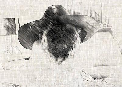 Photograph - Cowboy Pug by Jackson Pearson