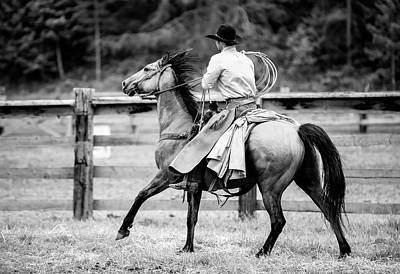 Photograph - Cowboy Ranch Hand by Athena Mckinzie