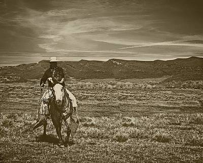 Photograph - Cowboy Ride by Amanda Smith