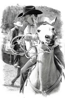 Photograph - Cowboy Roper by Athena Mckinzie