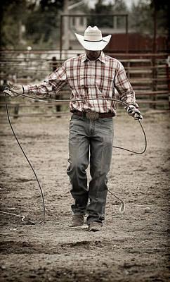 Photograph - Cowboy Roper II by Athena Mckinzie