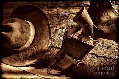 Photograph - Cowboy Safety by American West Legend By Olivier Le Queinec