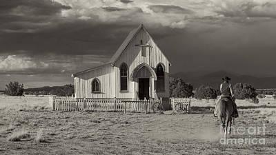 Photograph - Cowboy Sante Fe New Mexico by Pd