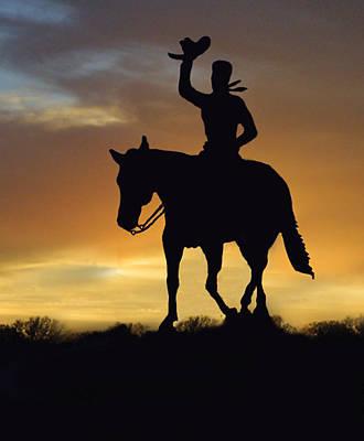Cowboy Slilouette Original