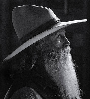 Portriat Photograph - Cowboy by Timothy Needham