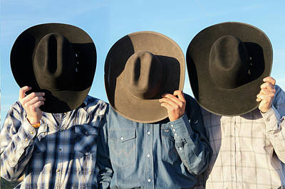 Cowboy Hat Photograph - Cowboys Anonymous by Todd Klassy