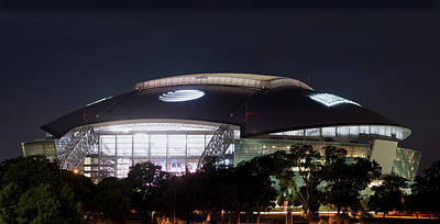 Photograph - Cowboys Stadium 03617 by Rospotte Photography
