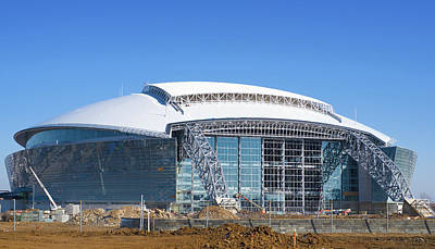 Photograph - Cowboys Stadium 071416 by Rospotte Photography