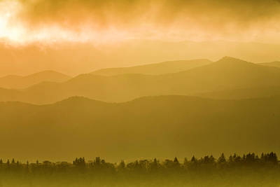 Photograph - Cowee Mountain Sunset by Fran Gallogly