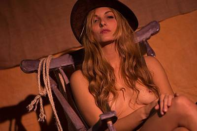 Photograph - Cowgirl 13 by Paul Miners